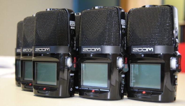 Enregistreurs numériques : Zoom h2n