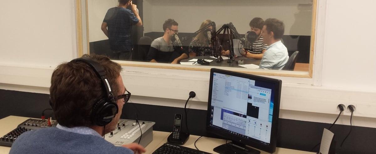 Du matériel pro : un studio radio à l'école, Toulouse