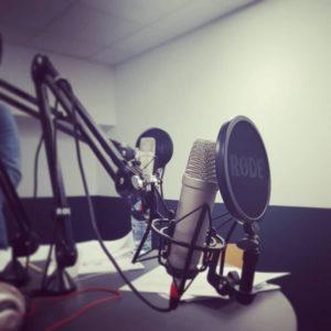 Studio enregistrement radio
